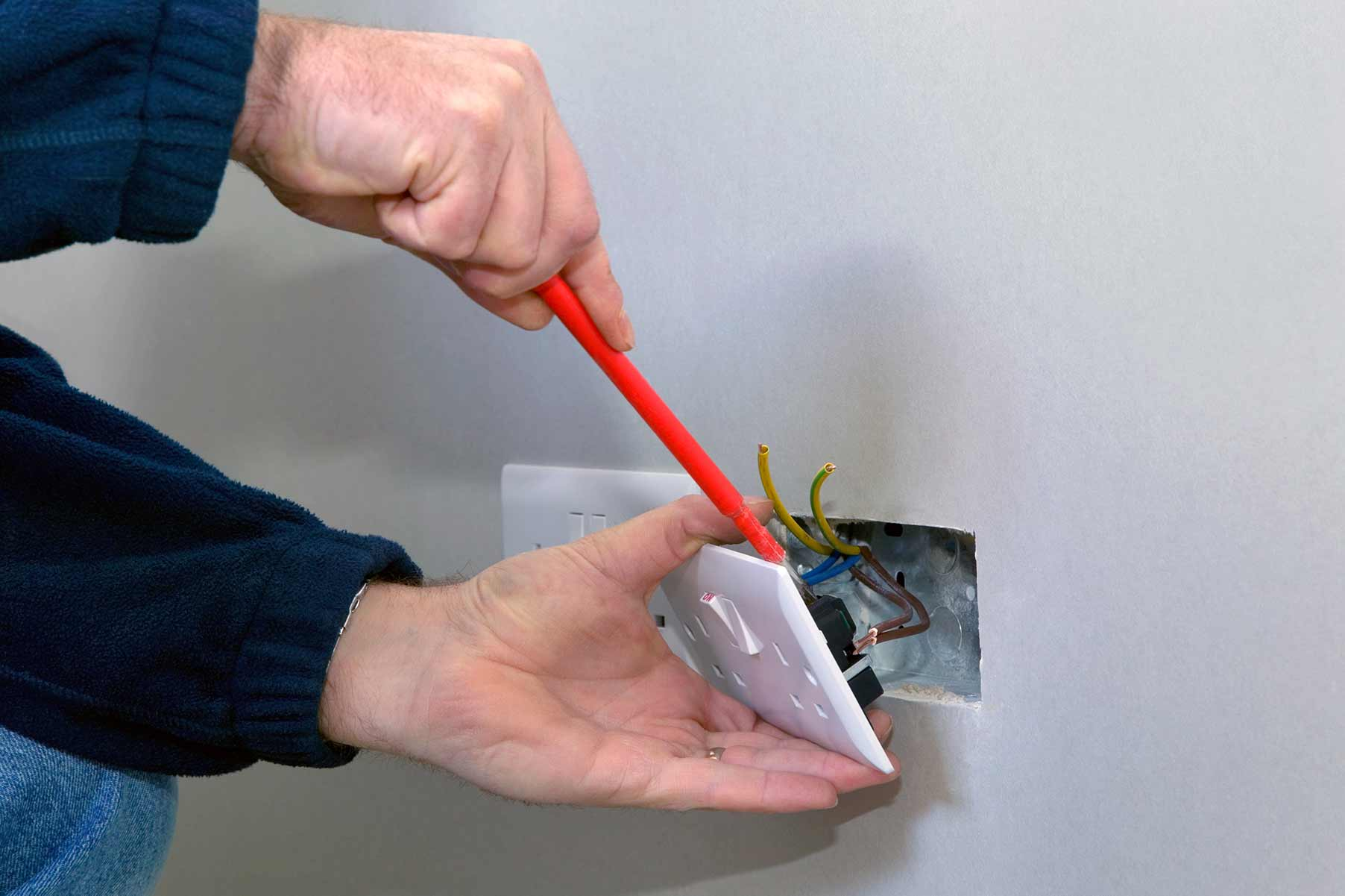 Our electricians can install plug sockets for domestic and commercial proeprties in Gospel Oak and the local area.